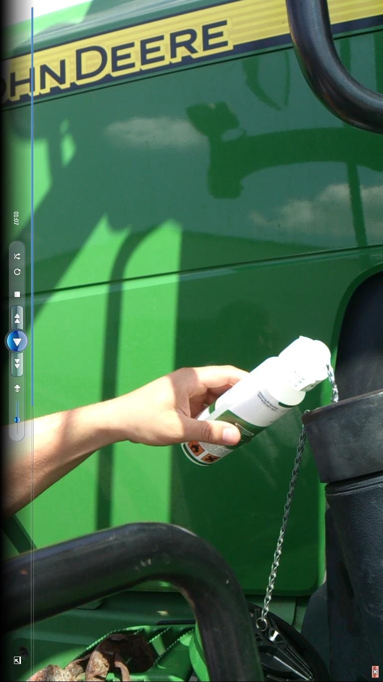mezogazdasági gép tesztek 10-29% üzemanyagmegtakarítás